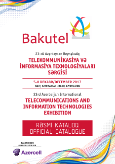 BAKUTEL 2017 Official Catalogue